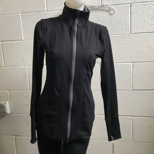 Yogasmoga black Brooklyn Jacket sz 6 NWT 59498